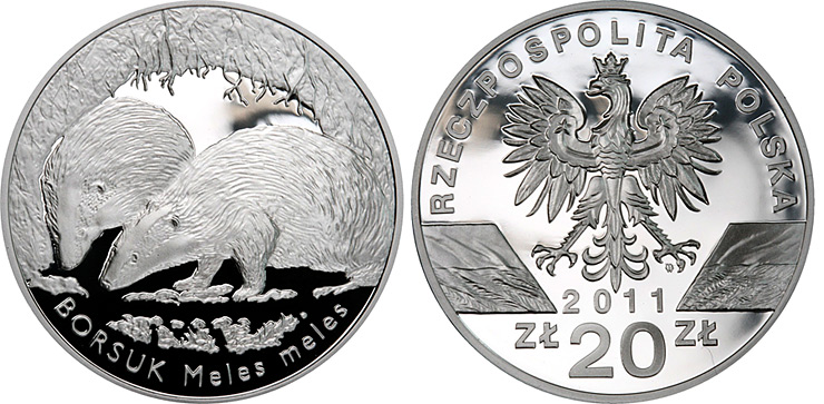 European Badger Poland 2 zl zloty