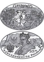 2 zl 2010 poland The Battle of Grunwald 1410 polsko mince coin