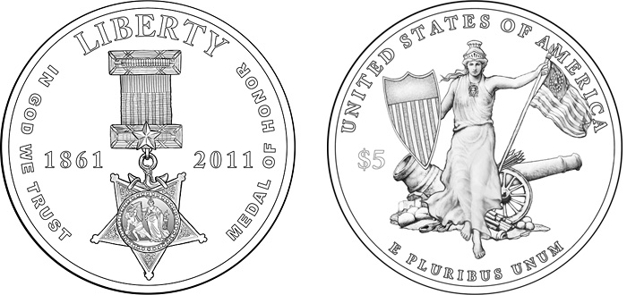 The 2011 Medal of Honor Commemorative Coins